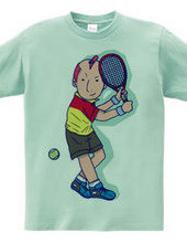 Tennis Player Boy