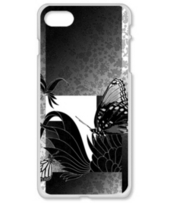 市松花柄と蝶