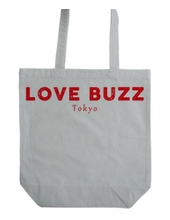 LOVE BUZZ logo RED