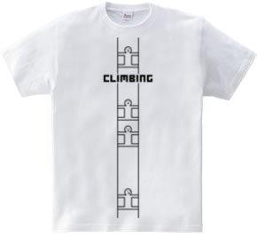 クライミング 隙間を登る