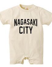 NAGASAKI CITY 長崎 ロゴTシャツ