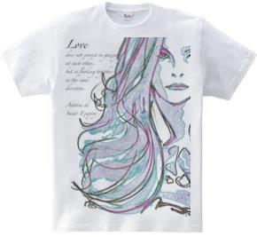 LOVE / Antoine de Saint-Exupéry アントワーヌ・ド・サン=テグジュペリ