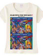 SEARCHING FOR MISTAKES‼️(間違い探し)