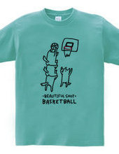 バスケットボール 肩車ゴール