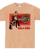 GIRL AND GUNS