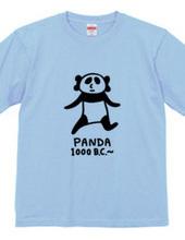 紀元前1000年パンダ