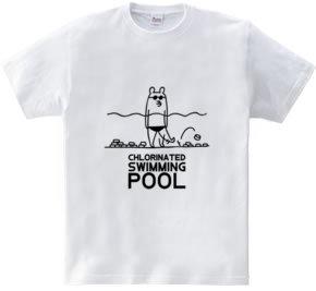 水泳 塩素消毒とクマ