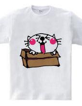 かくれんぼ!早く見つてニャーTシャツ
