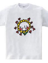 笑顔の花 Tシャツ