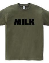 MILK ミルク ロゴ