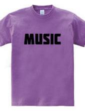 MUSIC ミュージック ロゴ