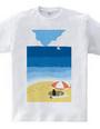 ペンギンビーチ1987-Tシャツ