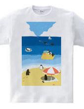 ペンギンビーチ2019-Tシャツ