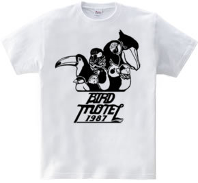 Hoimi限定 バードモーテルTシャツ