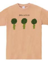 3 broccolis & no dressing