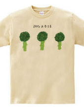3 broccolis & no dressing