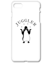 ジャグラーペンギン1 動物イラスト アーチ