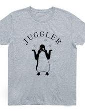 ジャグラーペンギン2 動物イラスト アーチ