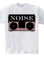NOISY MAKE LOUDER PINK BLACK
