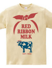 RED RIBBON MILK logo