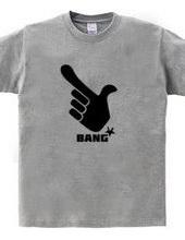 BANG! 指でピストル ロゴ