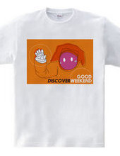 DISCOVER WEEKEND ORANGE