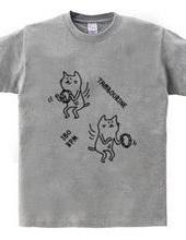 タンバリンとネコ