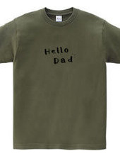 Hello dad ハローパパ ロゴ