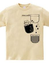 【Citrus cat】 Three pocket