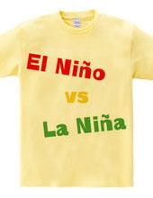 エルニーニョ vs ラニーニャ