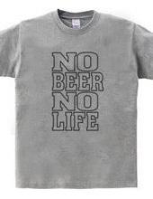 NO BEER NO LIFE ノービアーノーライフ ビールロゴ