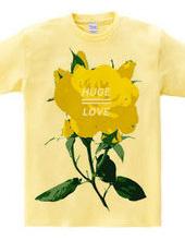 HUGE LOVE YELLOW