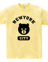 NYC Bear ニューヨークシティベアー 熊 カレッジロゴ