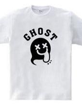 GHOST ゴースト イラストアーチロゴ