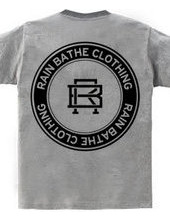 RAIN BATHE CLOTHING LOGO back