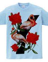 N L Y F ROSE AND BIRDS Y version