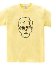 ウィトゲンシュタイン Wittgenstein イラスト 哲学者 偉人アート