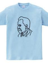 ニーチェ Nietzsche イラスト 哲学者 歴史 偉人アート
