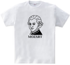 モーツアルト Mozart イラスト 音楽家 偉人アート