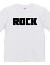 Rock ロック シンプルBIGロゴ ストリートファッション