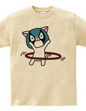 猫ルチャドール・フラフープ#2
