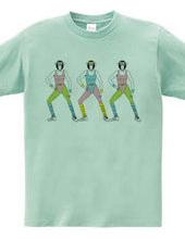 Aerobics monkeys