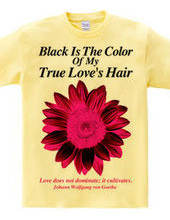 Black Is The Color Of My True Love s Hair【 Girly version 】【