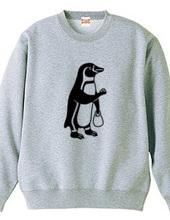 へんきん -お釣りが多いようです- ペンギン 動物イラスト 文字なし