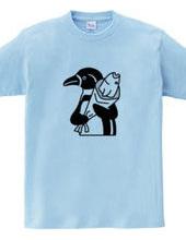 てんきん ペンギン 動物イラスト 文字なし おもしろユニーク