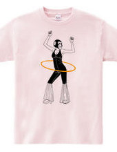 Hula hoop - lady