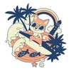 Shiba Surfing