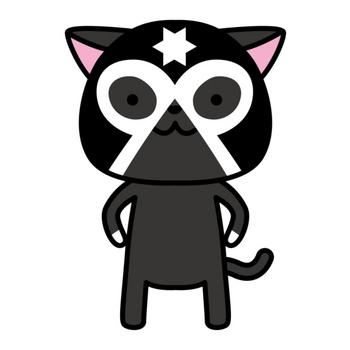 Cat Luchador #6