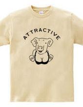 Attractive pig 動物イラスト ブタ 豚