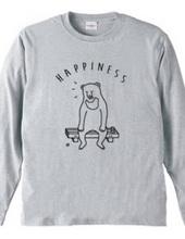 Happiness クマ 熊 動物イラスト